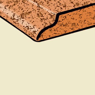 Illustration ok kitchen countertop edges