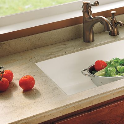 Alternative kitchen countertop surfaces