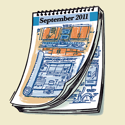 Illustration of a calendar