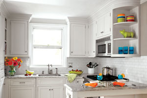 Glamour Home Decorating: Small Kitchen Layouts Photos