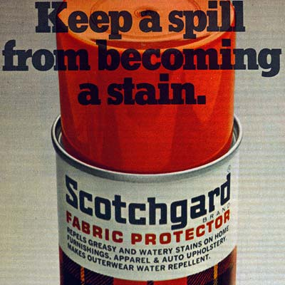 retro scotchguard advertisement