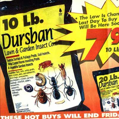 Dursban advertisement