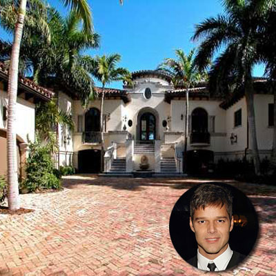 Ricky martin stately celebrity homes for sale this old for Celebrity houses in florida