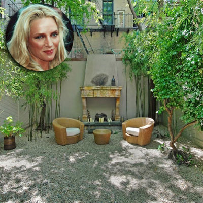 uma thurman's greenwich village home for sale