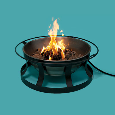 Budget copper fire pit