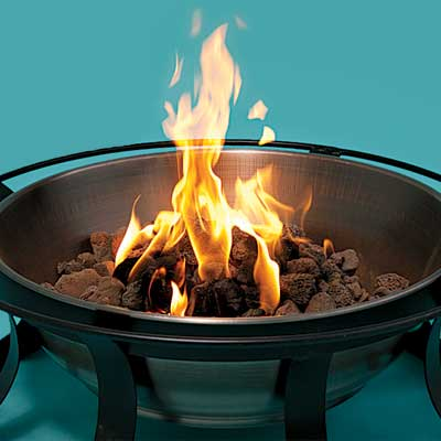 How copper fire pits work