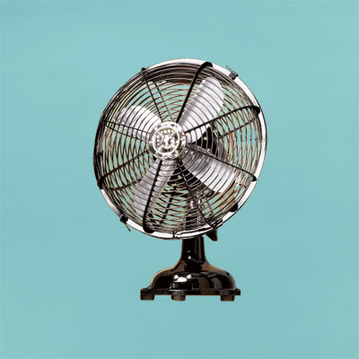 vintage fan by ecco