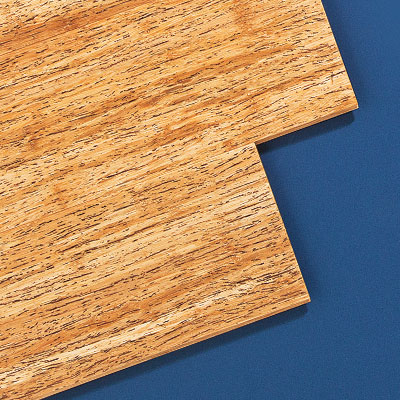 Planks of the high-end bamboo wood flooring