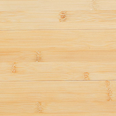 Close-up of low-end bamboo wood floor finish
