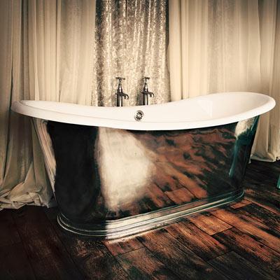 Cast-iron tub