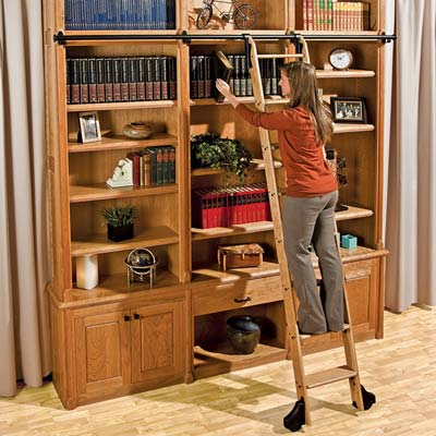 Library ladder plans