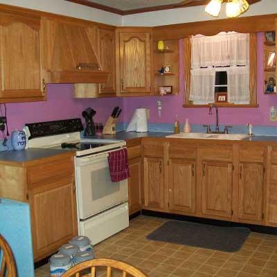Reader's kitchen before remodel