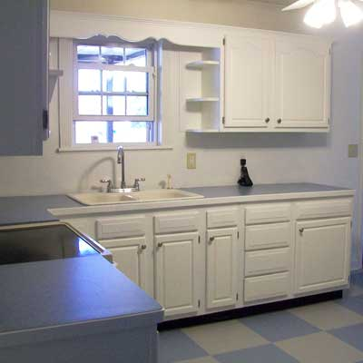 Reader's kitchen after remodel