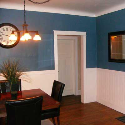 Reader's dining room after remodel