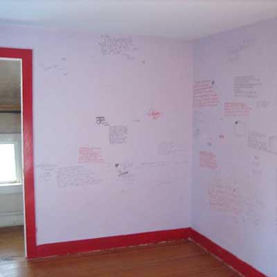 Reader's bedroom before remodel