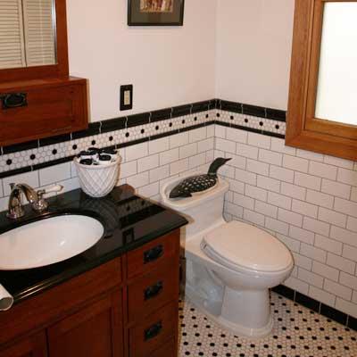 Reader's bathroom after remodel