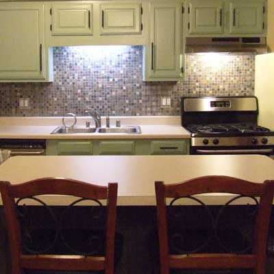 Reader's remodeled kitchen