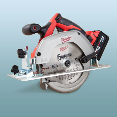 a Milwaukee circular saw