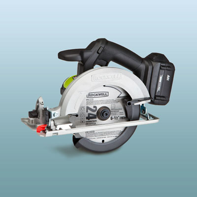 a Rockwell circular saw