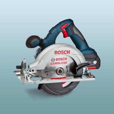 a Bosch circular saw