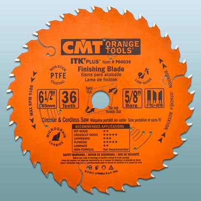 a CMT circular saw blade