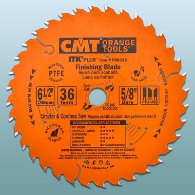 a CMT circular saw blade