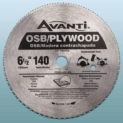 an Avanti circular saw blade