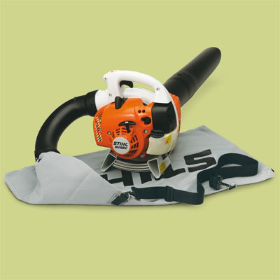 Stihl gas powered leaf blower for review