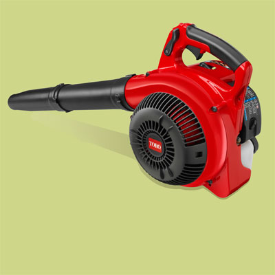 Toro gas powered leaf blower for review