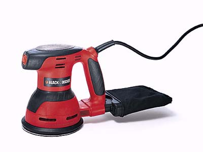 Black & Decker's lightweight 5-inch sander