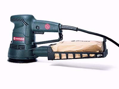 Metabo's 5-inch pistol-grip sander