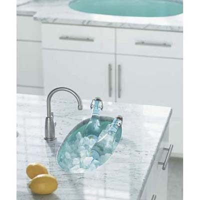 Iron/Tones bar sink from Kohler