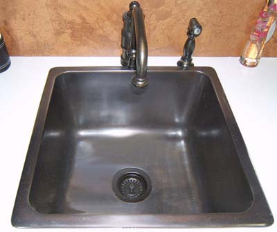 Square bar sink from Elite