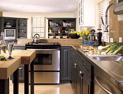 kitchen in TV Bermuda House
