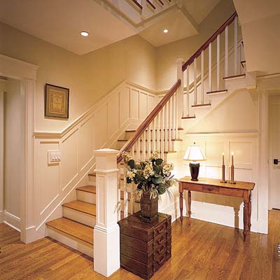 Flat Panel Wainscoting Designs Layouts And Materials