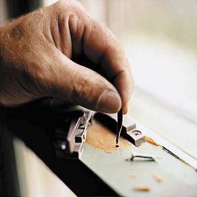 tighten a drafty window