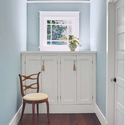 Built in cabinet ideas pdf woodworking for Window under kitchen cabinets