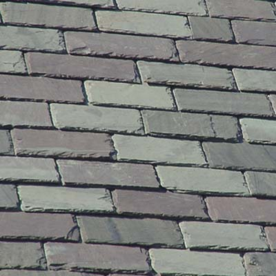 fire resistant slate roof