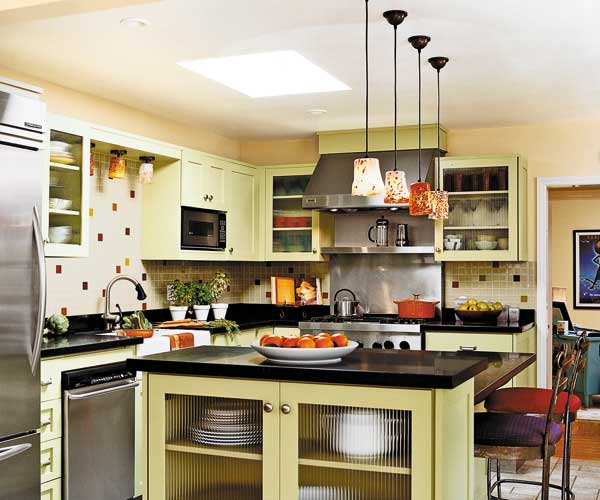 Bi Level Kitchen Designs: A Kitchen Facelift Offers A