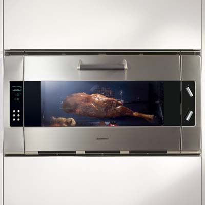 wall oven from Gaggenau