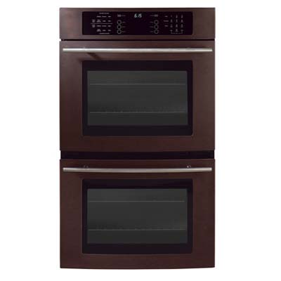 two door bronze oven from Jennair  