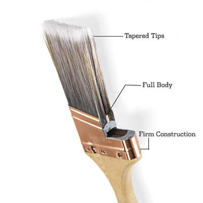 cut away paint brush