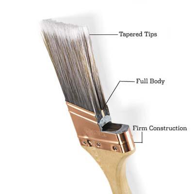 cut away paint brush