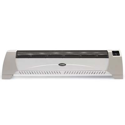 Lasko Low Profile Heater, about $40 to $55