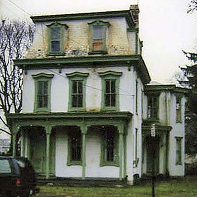 Second Empire house before renovation