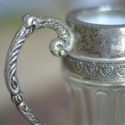 silver pot dishware