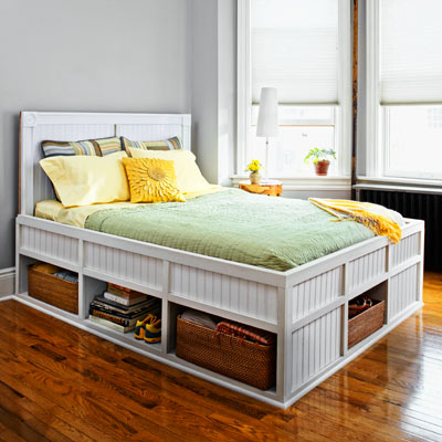 storage bed 