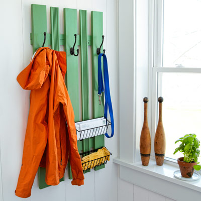 wall coatrack