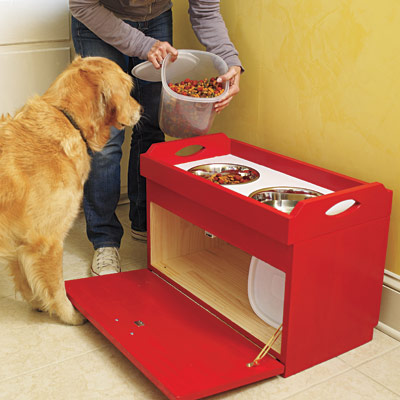 dog food station