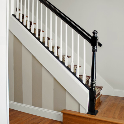 reader budget remodel staircase after